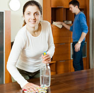 Family/ Living/ Dining Rooms Cleaning